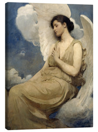 Canvas print  Winged figure - Abbott Thayer