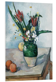 Paul Cézanne - The Vase of Tulips