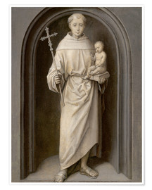 Premium poster Saint Anthony of Padua