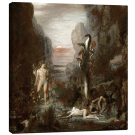 Canvas  Hercules and the Lernaean Hydra - Gustave Moreau