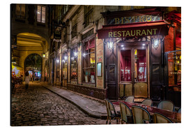 Alu-Dibond  Parisian cafe - Jim Nix