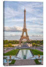 Canvas print  Eiffel Tower and Europe - Roberto Moiola