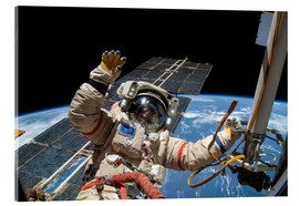 Acrylic print  ISS spacewalk - NASA