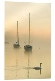 Acrylic print  A misty morning over Lake Windermere, UK - Ashley Cooper