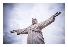 Premium poster Christ the Redeemer