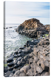 Canvas print  The Giants Causeway - Michael Runkel