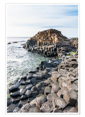 Premium poster The Giants Causeway