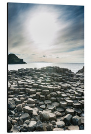 Aluminium print  The Giants Causeway, Ulster, Northern Ireland - Michael Runkel