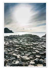 Premium poster The Giants Causeway, Ulster, Northern Ireland