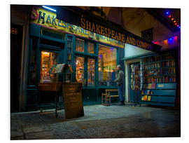 Forex  Shakespeare and Company bookstore, Paris, France, Europe - Jim Nix
