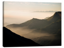 Canvas print  Morning light from Top Station, Kerala - Ben Pipe