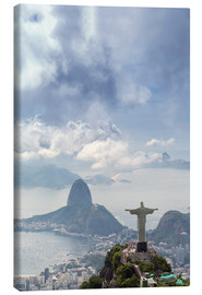 Canvas print  The Christ and the Sugar Loaf - Alex Robinson