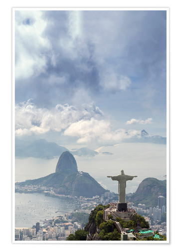 Premium poster The Christ and the Sugar Loaf