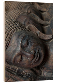 Alex Robinson - Carved buddha heads
