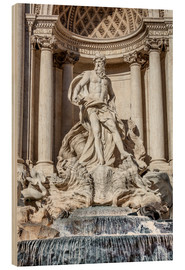 Wood  Trevi Fountain in Rome - Reynold Mainse
