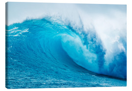Canvas print  Beautiful Blue Ocean Wave