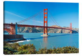 Canvas print  Golden Gate Bridge in San Francisco