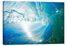 Canvas  Blue Ocean Wave