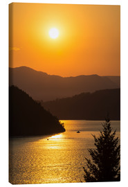 Canvas print  Sunset over Howe Sound - Bill Collins
