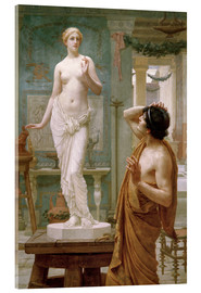 Acrylic print  Pygmalion and Galatea - Ernest Normand