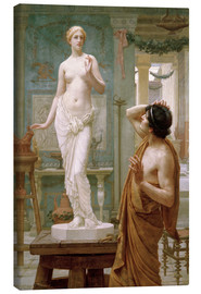 Canvas  Pygmalion and Galatea - Ernest Normand