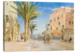 Canvas print  Afternoon in Algiers - Peder Mork Mönsted