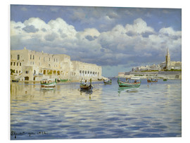 Forex  In the port of Malta - Peder Mork Mönsted