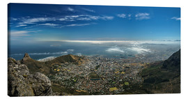 Canvas print  Panorama Cape Town South Africa - Achim Thomae