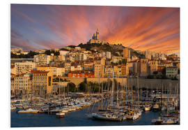 Forex  Marseille sunset - Vincent Xeridat