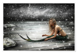 Premium poster Winter Mermaid
