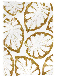 Acrylic print  Monstera Gold - Uma 83 Oranges