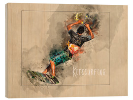 Wood  kitesurfing cool - Peter Roder