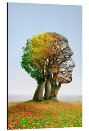 Aluminium print  The tree of life - Smetek