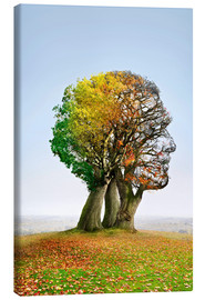 Canvas print  The tree of life - Smetek