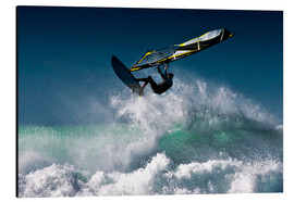 Alu-Dibond  Windsurfer in the air - Ben Welsh