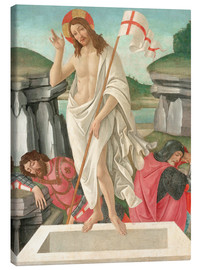 Canvas print  The Resurrection - Sandro Botticelli