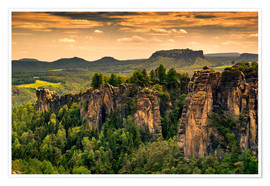 Reiner Würz RWFotoArt - Sandstone mountains Saxon Switzerland