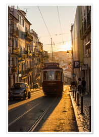 Poster  Tram in Lisbon, Portugal - Alex Treadway