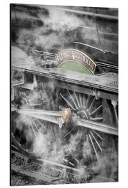 Aluminium print  The Flying Scotsman steam-train - John Potter