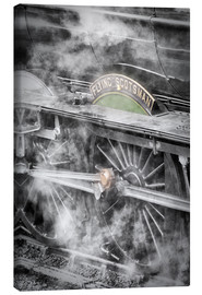 Canvas  The Flying Scotsman steam locomotive - John Potter