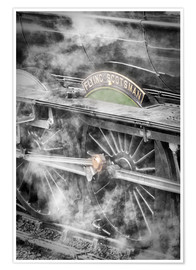 John Potter - The Flying Scotsman steam locomotive