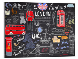 Acrylic print  London at a glance