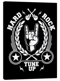 Canvas print  Hard rock - Durro Art