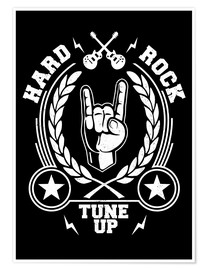 Premium poster  Hard rock - Durro Art