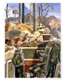 Poster  Existence - Paul Nash