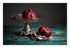 Premium poster Still Life with Pomegranate