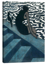 Canvas print  La Baigneuse - Léon Spilliaert
