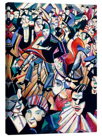 Canvas print  Dance Hall - Christopher Nevinson