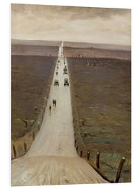Forex  The Road from Arras to Bapaume - Christopher Nevinson
