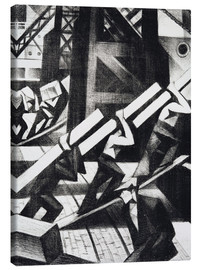 Canvas print  loading the ship - Christopher Nevinson